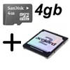 Acekard 2.1 and 4GB MicroSDHC Card for Nintendo DS & Lite