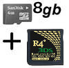 R4i Gold 3DS and 8GB MicroSD for 3DS, DSi, DSi XL, DS Lite, DS